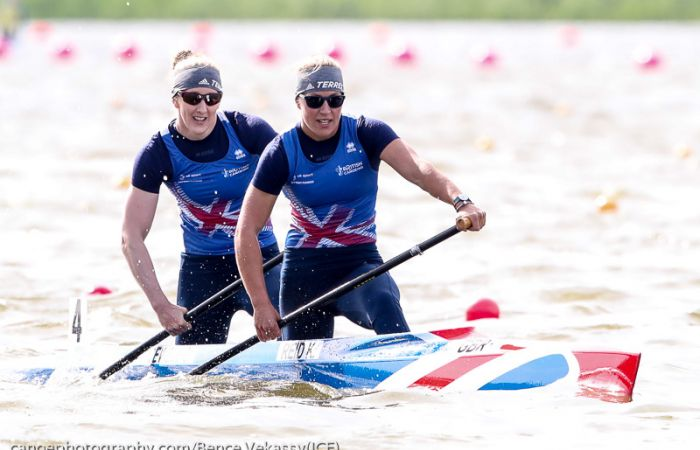British Record  for Reid and Bracewell on final day of racing in Poznan