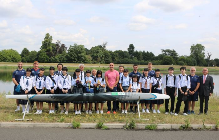 Liam Heath hosts Japanese visit as we near one year to go