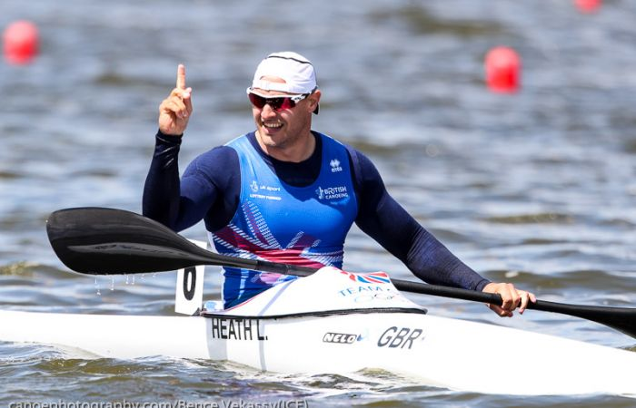Gold for Liam Heath at World Cup 1