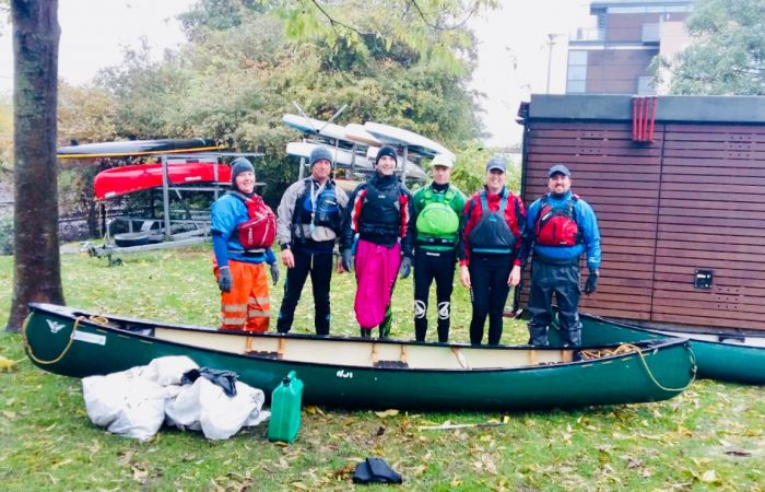 Lincoln Canoe Club takes part in National Campaign to remove plastic pollution from our waterways