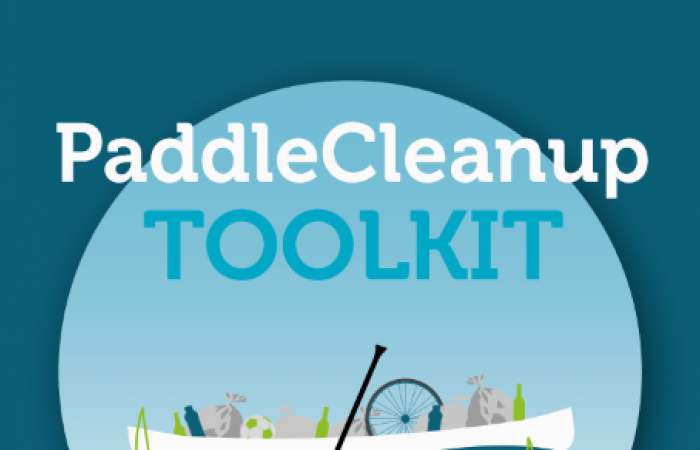 Paddle cleanup toolkit launched to help paddlers keep waterways clean