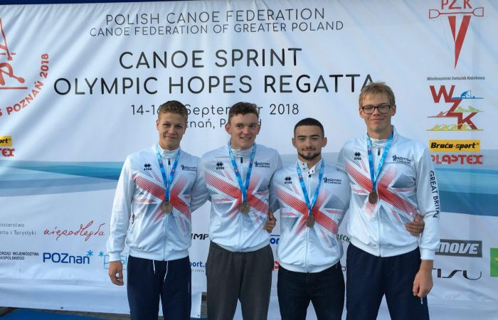 Crew boat bronze for Britain at Olympic Hopes Regatta