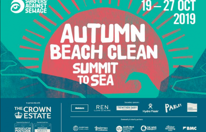 British Canoeing are once again supporting Surfers Against Sewage in their Autumn campaign!