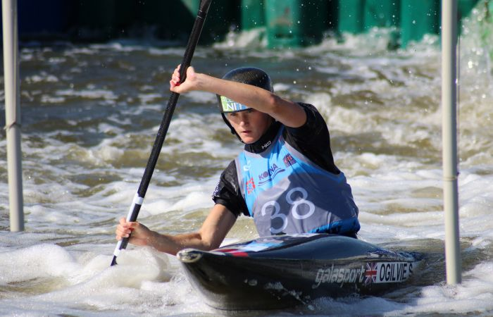 Junior and U23 slalom athletes preparing to take on World Championships