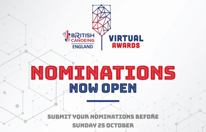Nominate your heroes for the British Canoeing 2020 Virtual Awards