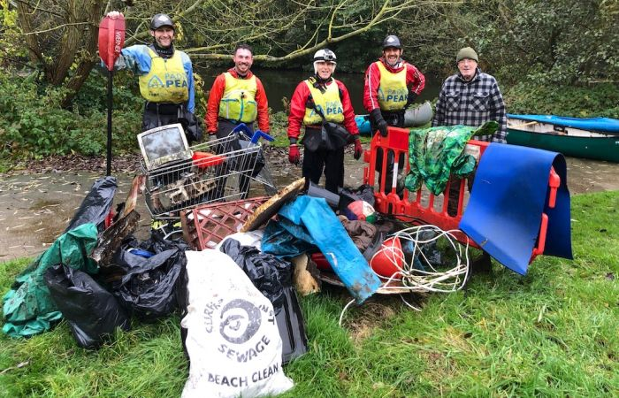 The Great River Derwent Clean Up!