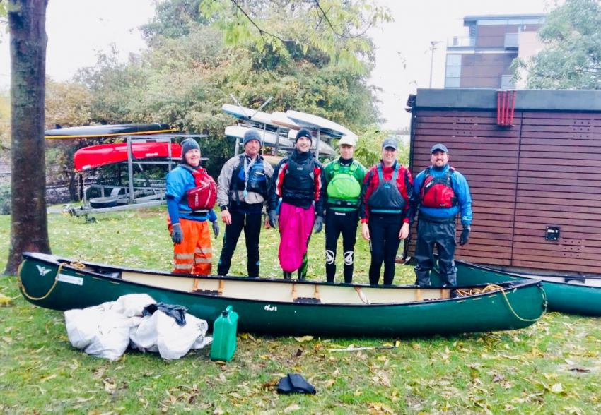 Lincoln Canoe Club Waterways Clean Up Sat 26 Oct 1