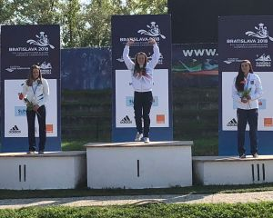 Nikita Setchell K1 W Podium