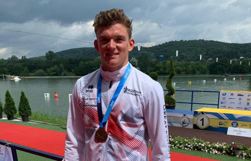 Daniel Atkins With World Gold Medal 2019