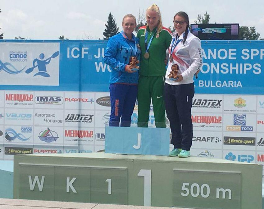 Emma Russell 2018 Jnr Sprint Worlds Bronze