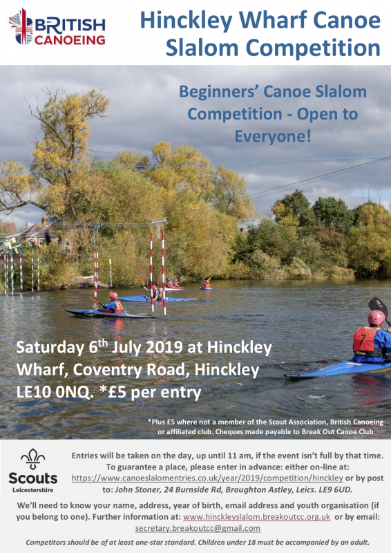 Hinckley Wharf Slalom For Local Distribution July 2019