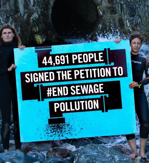 #EndSewagePollution Petition Delivered to DEFRA