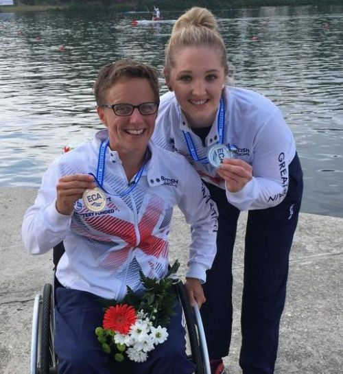 Britain top the medal table at Paracanoe European Championships