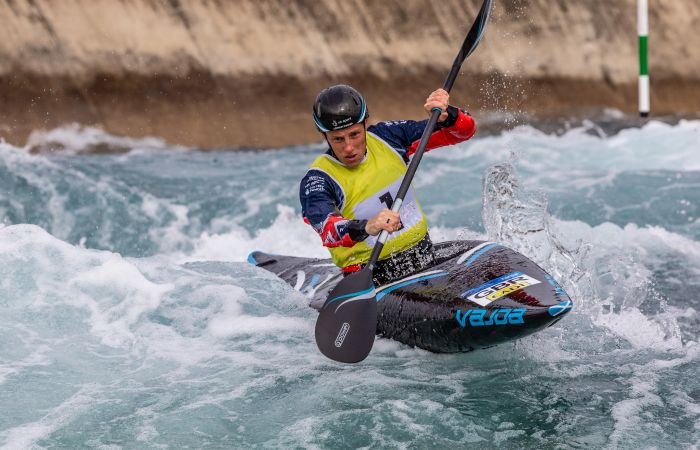 Slalom paddlers claim titles at British Open