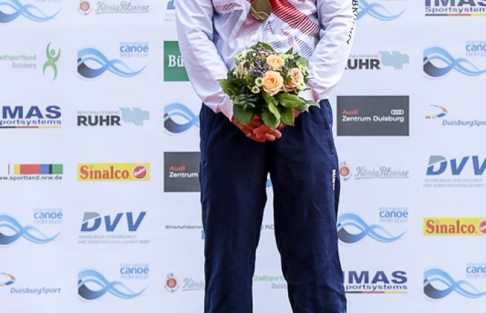 Gold for Liam Heath at canoe sprint World Cup 2