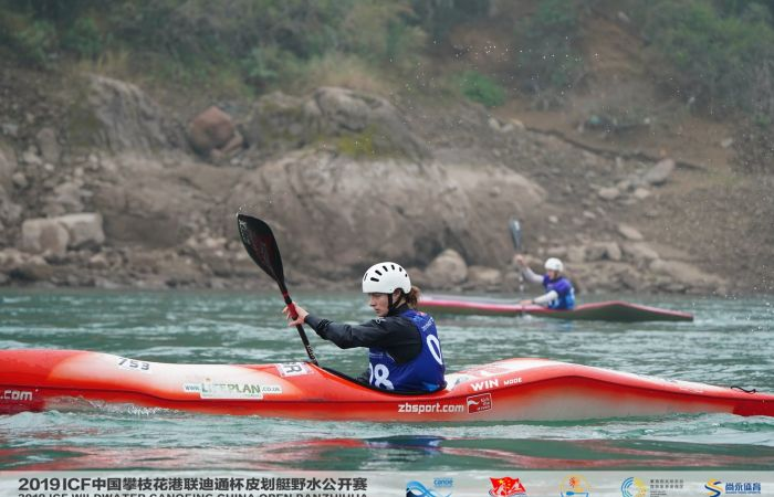 Hannah Brown wins wildwater gold at China Open