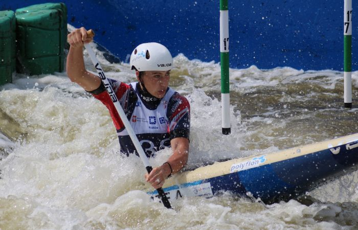 Four British Boats take on slalom Junior and U23 World Championship Finals