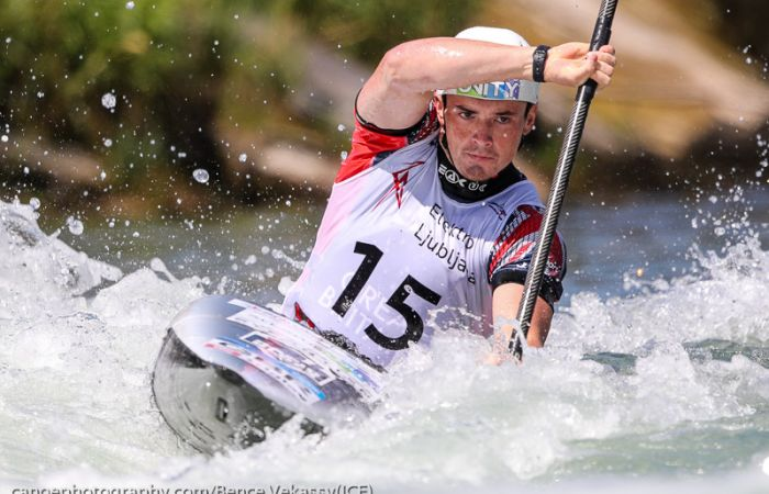 Men's K1 Paddlers Make Strong Challenge in the Final