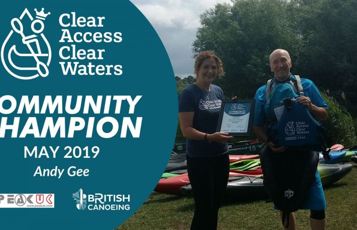 Our latest Clear Access, Clear Waters Community Champion is announced!