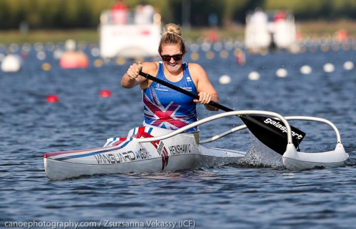 Confident start for GB at Paracanoe World Championships as Henshaw takes brilliant bronze