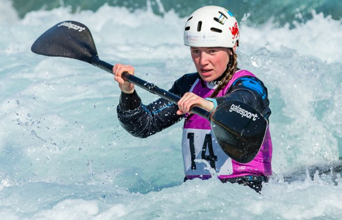 Strong start for Brits at Junior and U23 canoe slalom European Championships