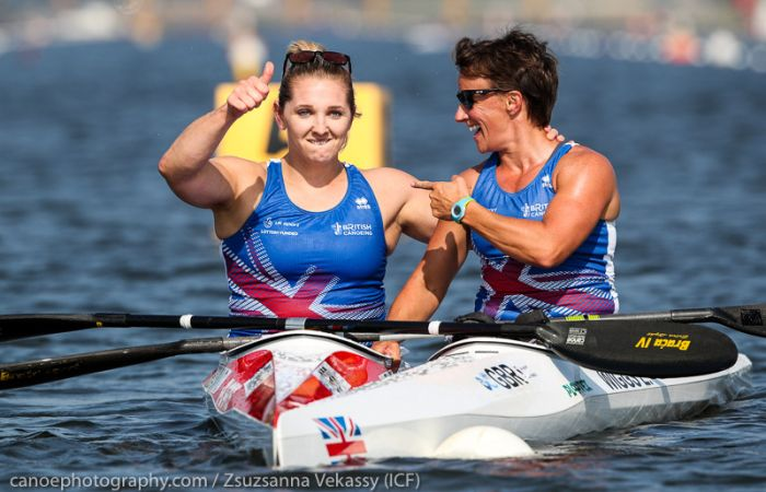 Gold for Henshaw and silver for Wiggs at Sprint and Paracanoe World Championships