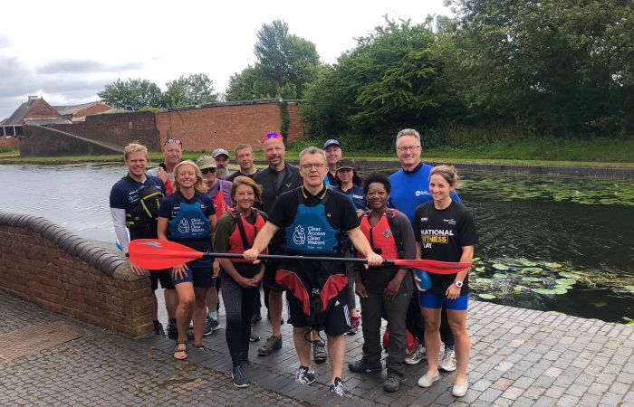 Tom Watson enlists the help of British Canoeing to complete paddling challenge as part of his Adventures 4 Health campaign!