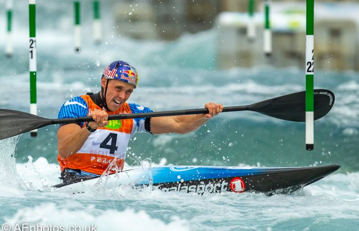 Red Hot Heats in Tacen for Slalom World Cup 3