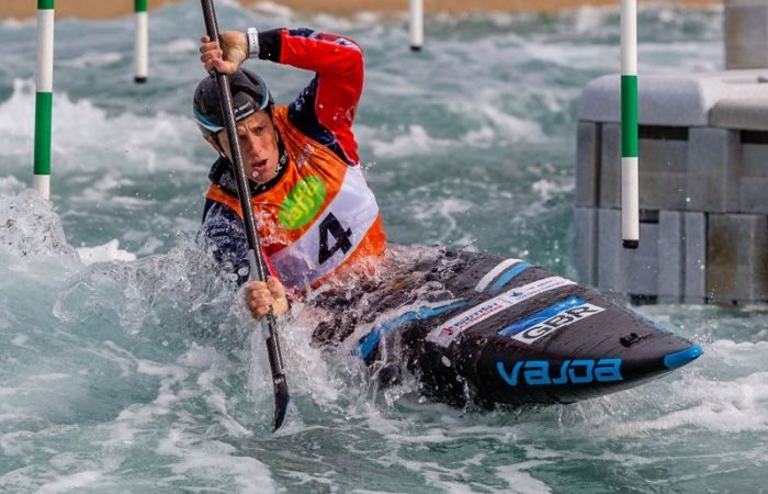 Solid start for GB on opening day of Canoe Slalom European Championships