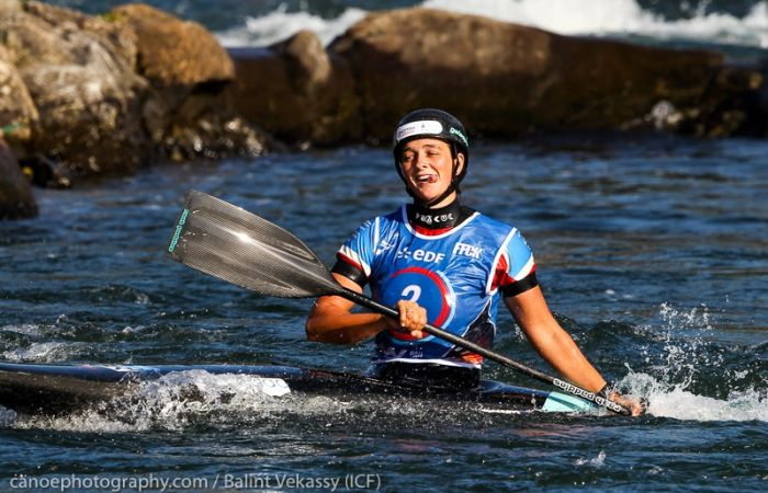 Mallory Franklin becomes slalom C1 World Champion