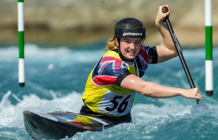 Brits continue to put stamp on Junior and U23 canoe slalom European Championships