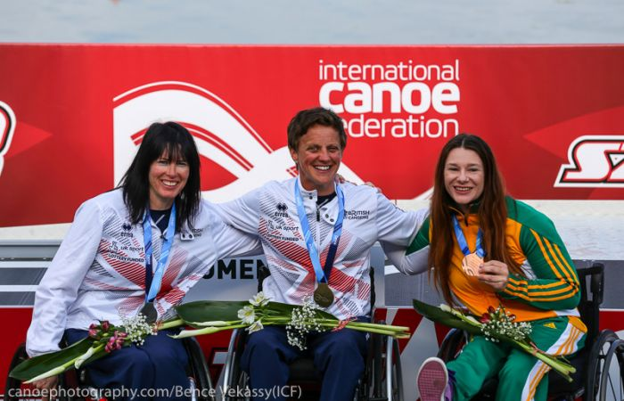 Paracanoe Athletes Strike Gold and Silver on Day 2 of Szeged World Cup