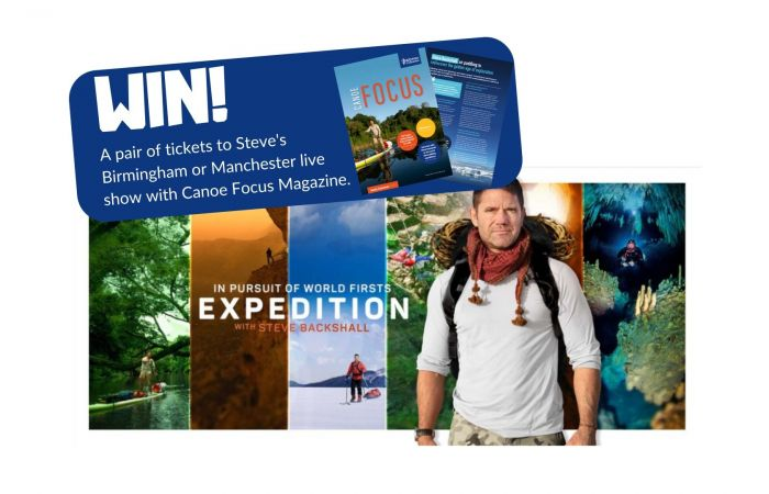 WIN TWO TICKETS TO EXPEDITION WITH Steve Backshall - IN PURSUIT OF WORLD FIRSTS.