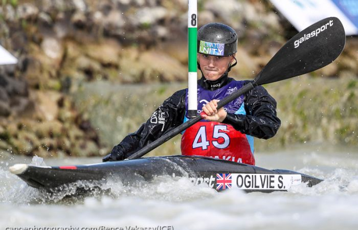 Course Proves a Tough Challenge for Slalom Paddlers in Bratislava