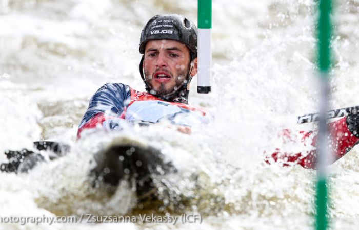Solid first day for GB at Canoe Slalom World Cup Final in Prague