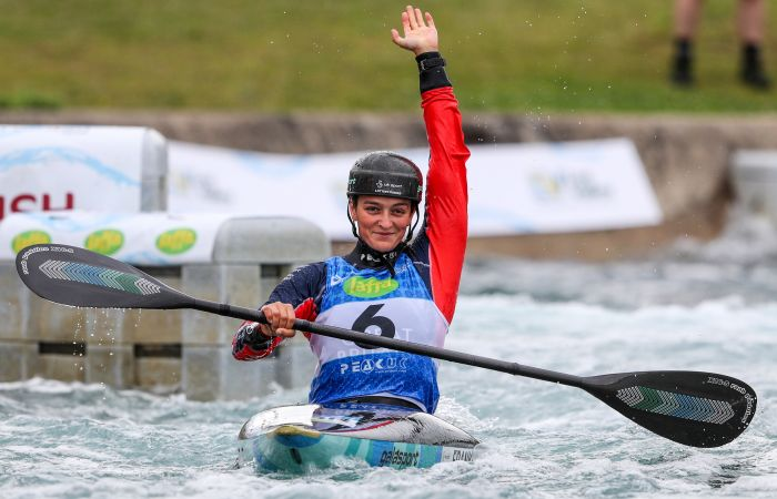 Four medals for GB on Day Two of Canoe Slalom World Cup