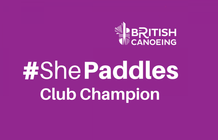 Become a #ShePaddles Club Champion